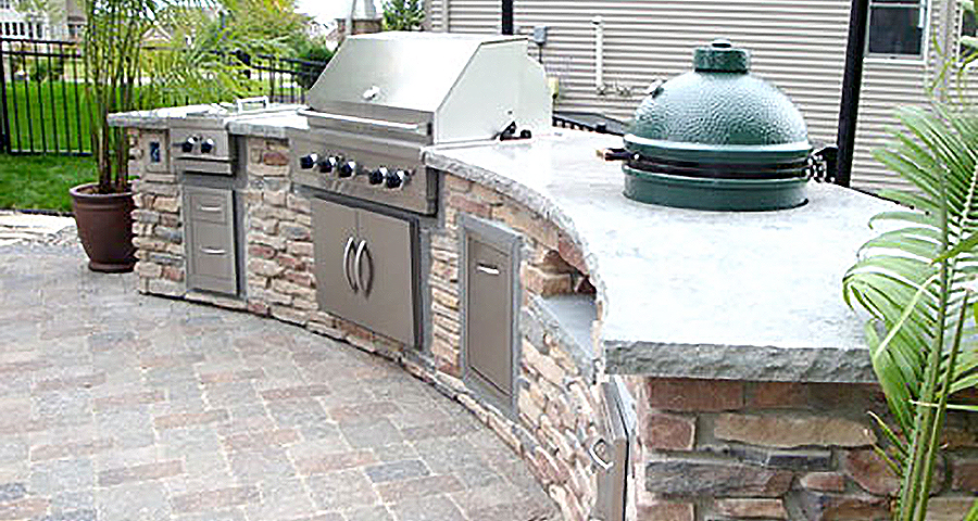 Outdoor Kitchens Fireplaces APL Landscape Solutions